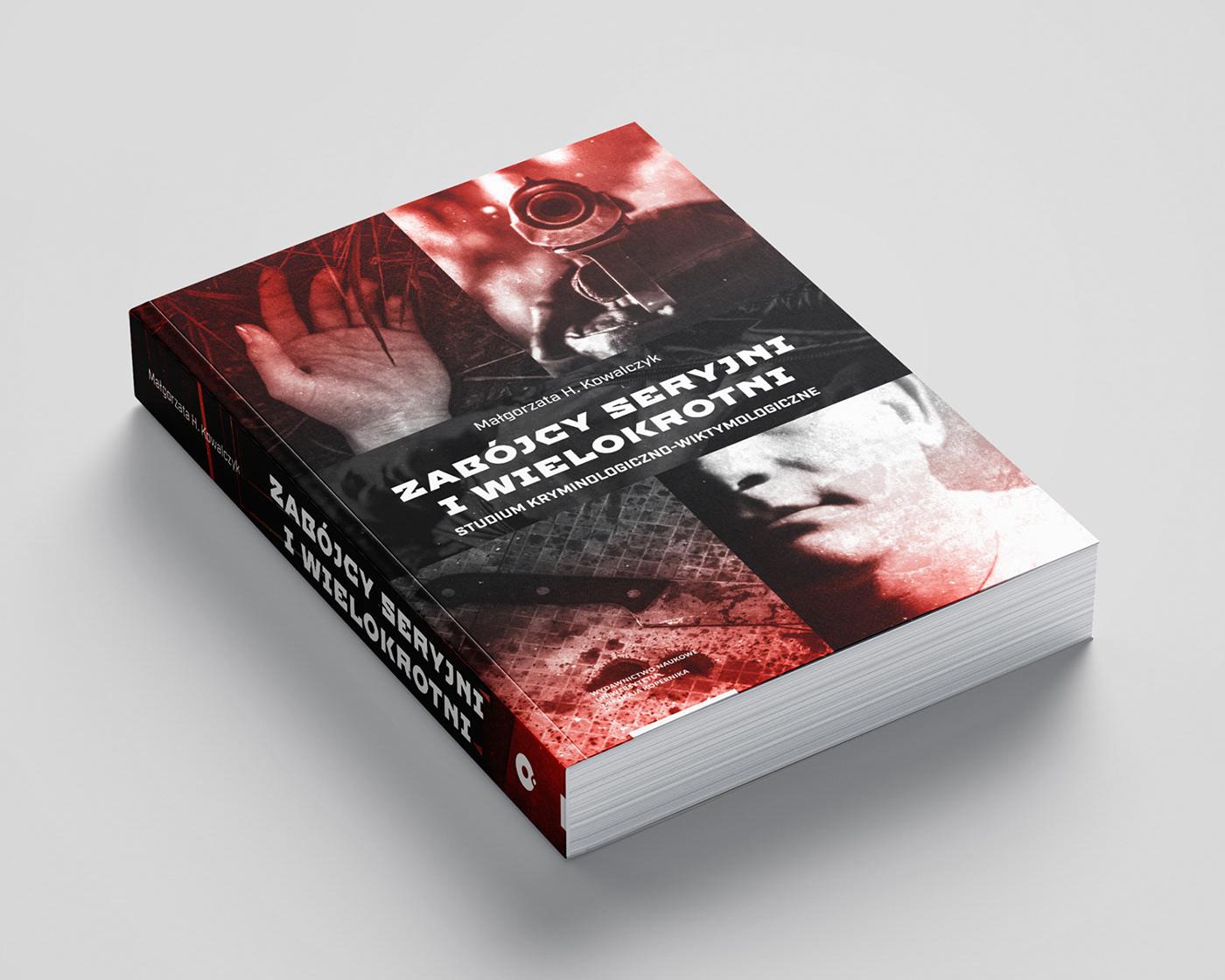 book cover crime investigation książka murder okładka okładka książki serial killer victim violence