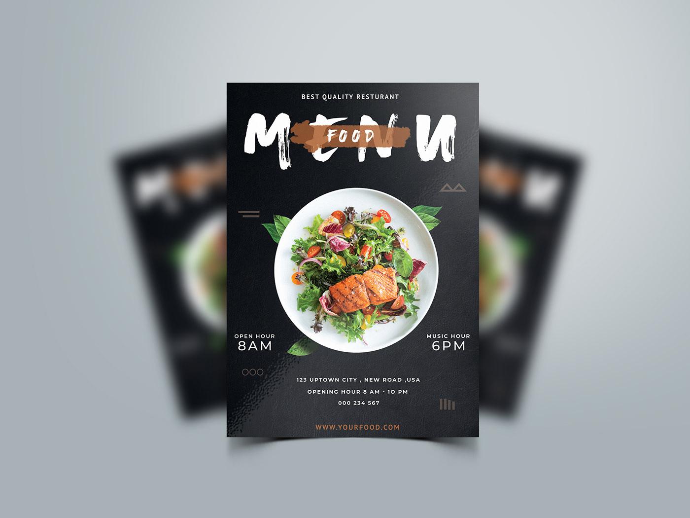 豐富的42張菜單封面欣賞