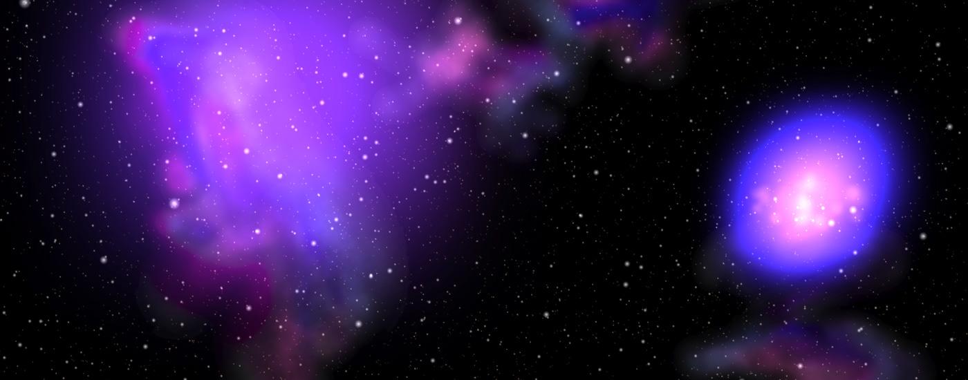 universe galaxy nebula space