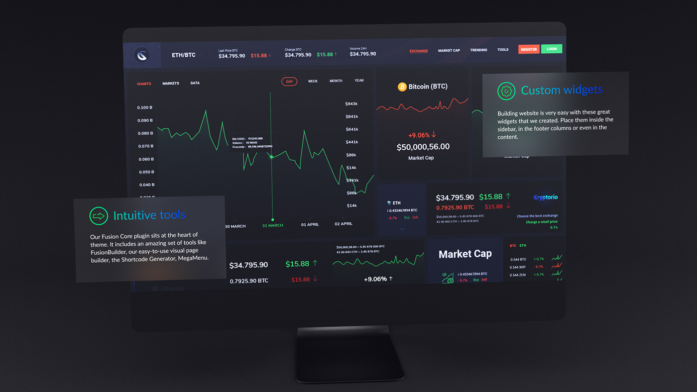 Desktop Website Presentation - 10