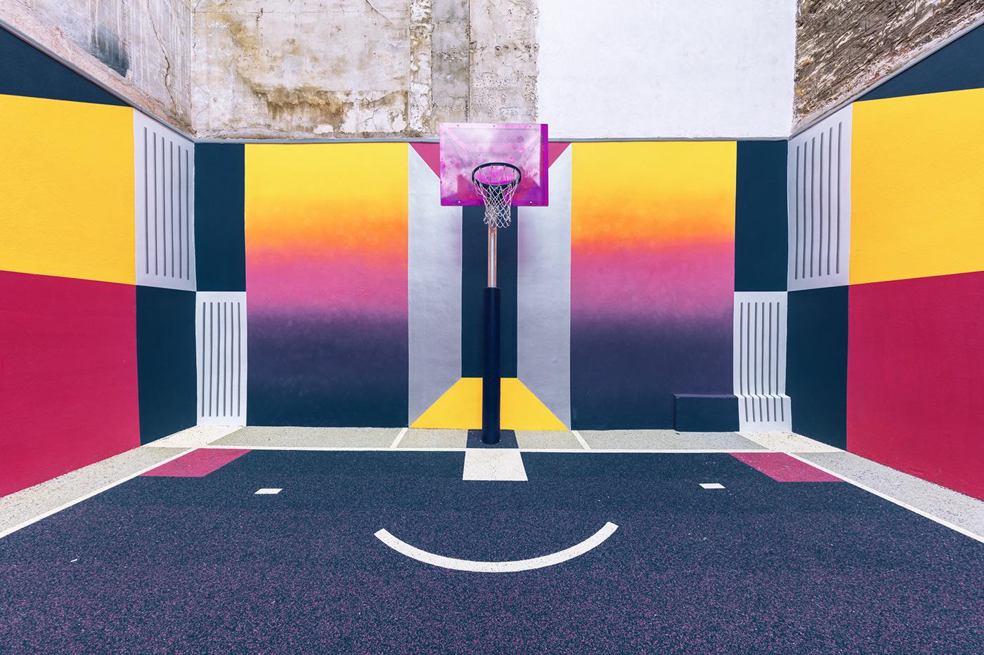 basketball Paris pigalle Nike Playground play summer