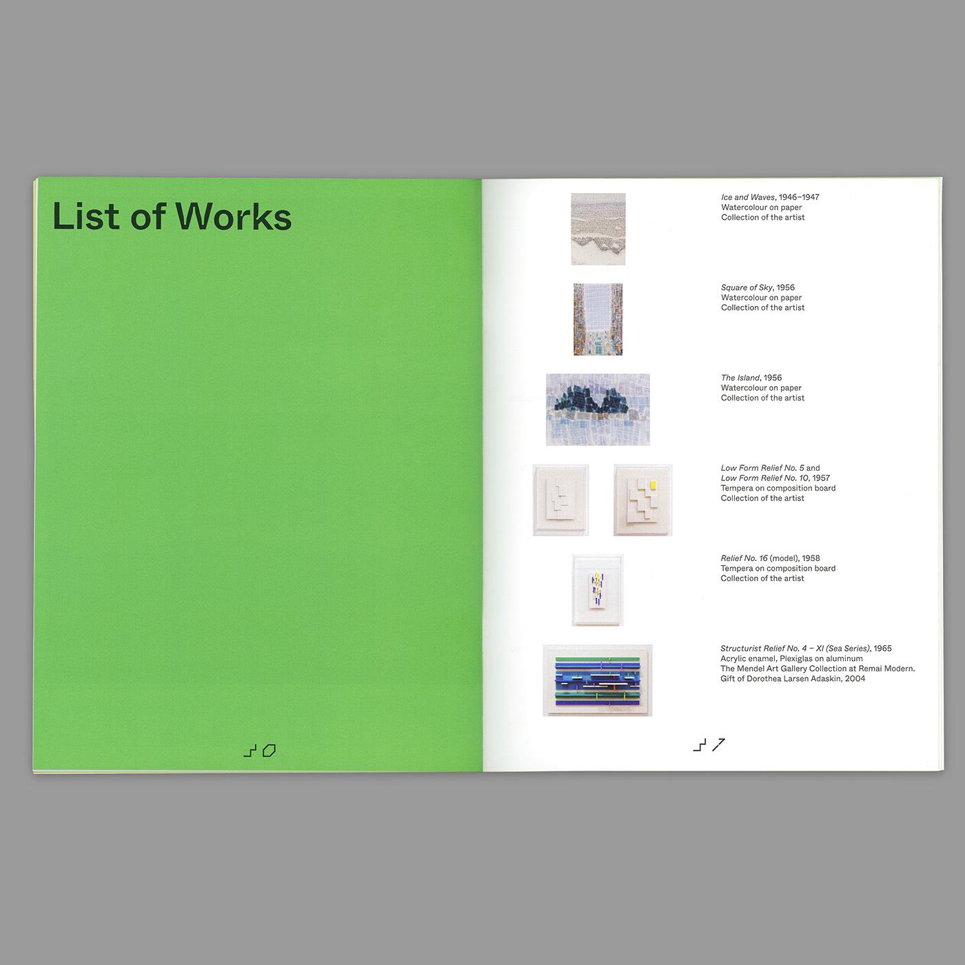 design print Catalogue Exhibition
