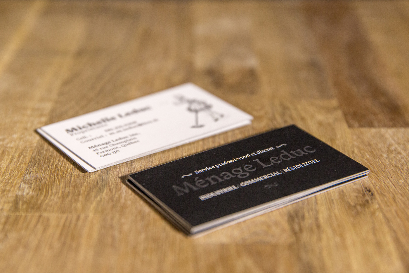 business card logo foil soft touch car stamp