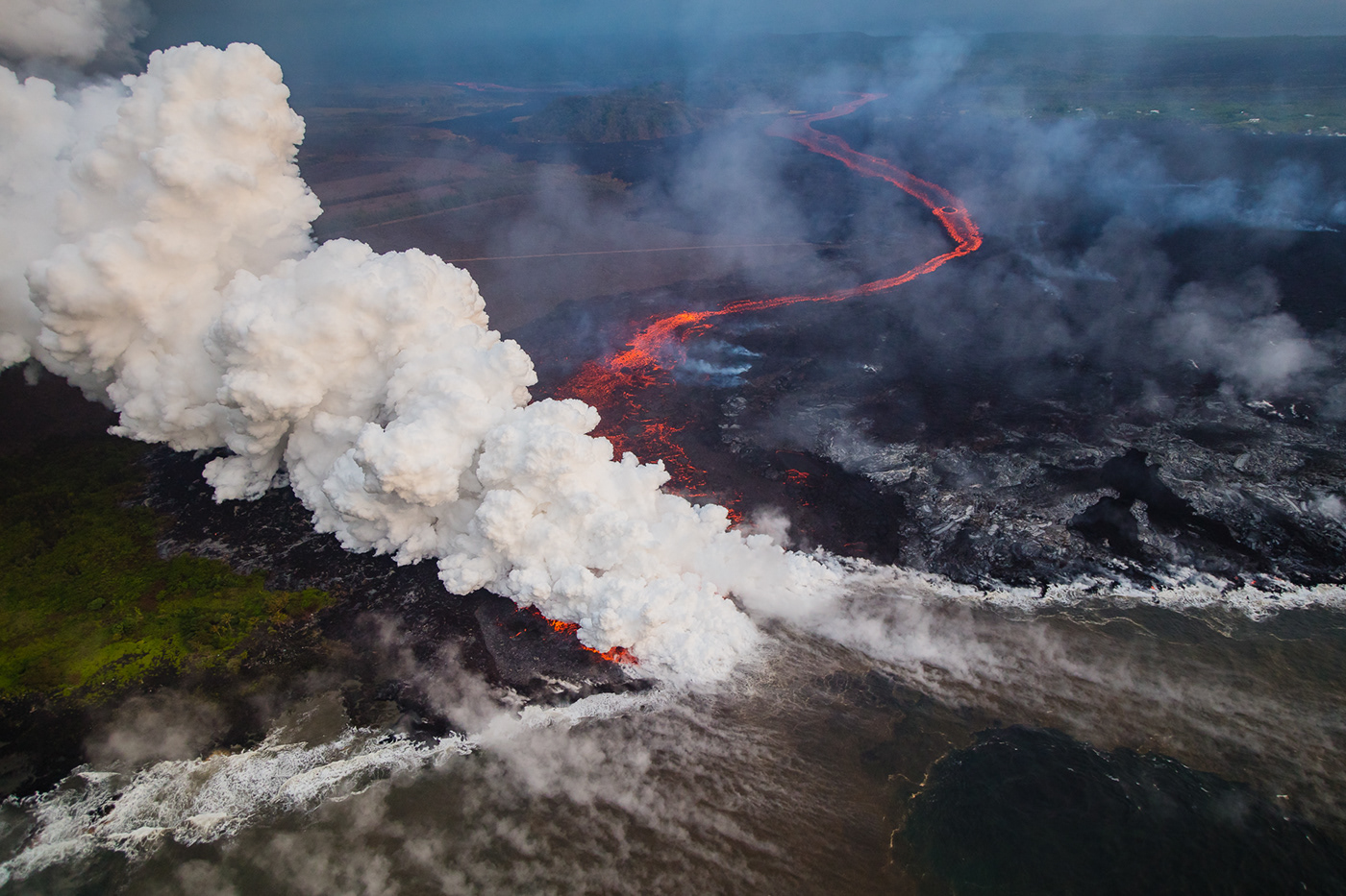 5ds r,Aerial,big island,Canon,disaster,HAWAII,helicopter,volcano,lava