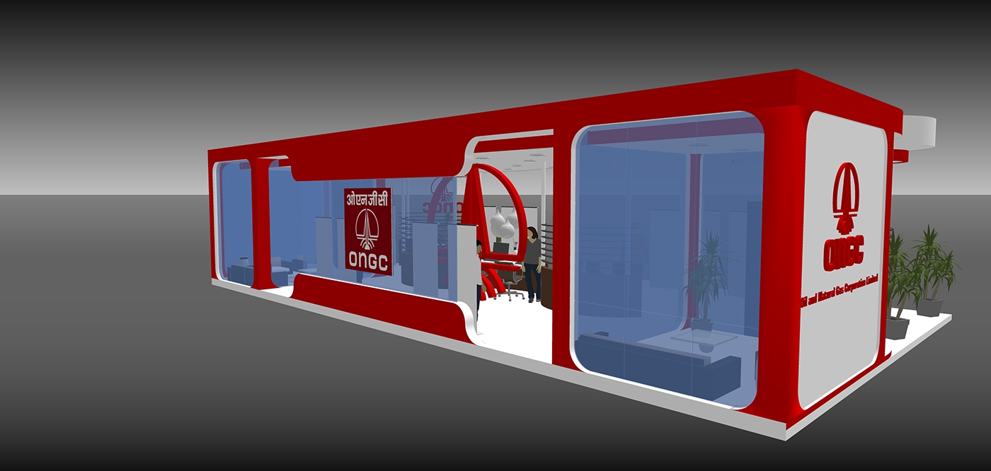 Stall Visualization Stall 3D Modeling 3D Visualization event visualization