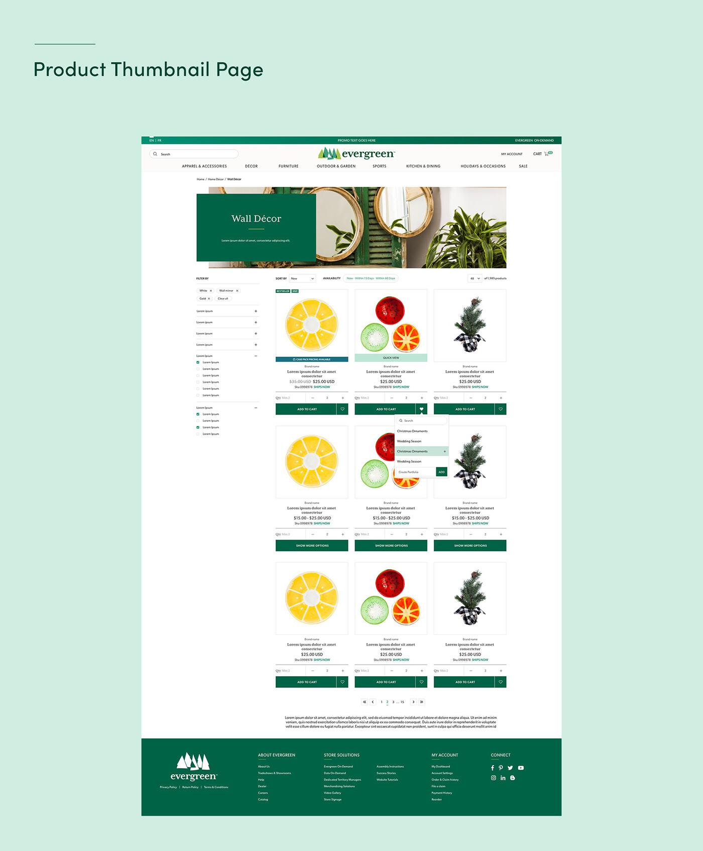 b2b mobile user experience user interface Website Design