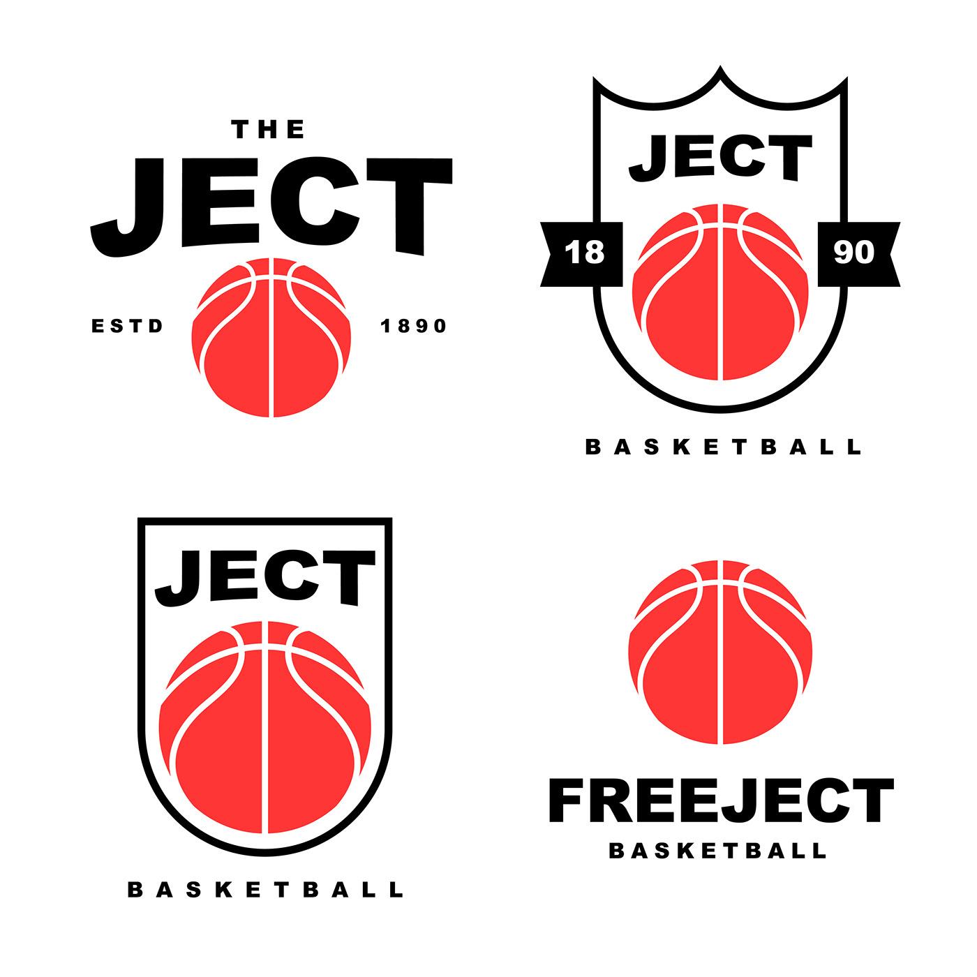 高質量的25張籃球logo欣賞