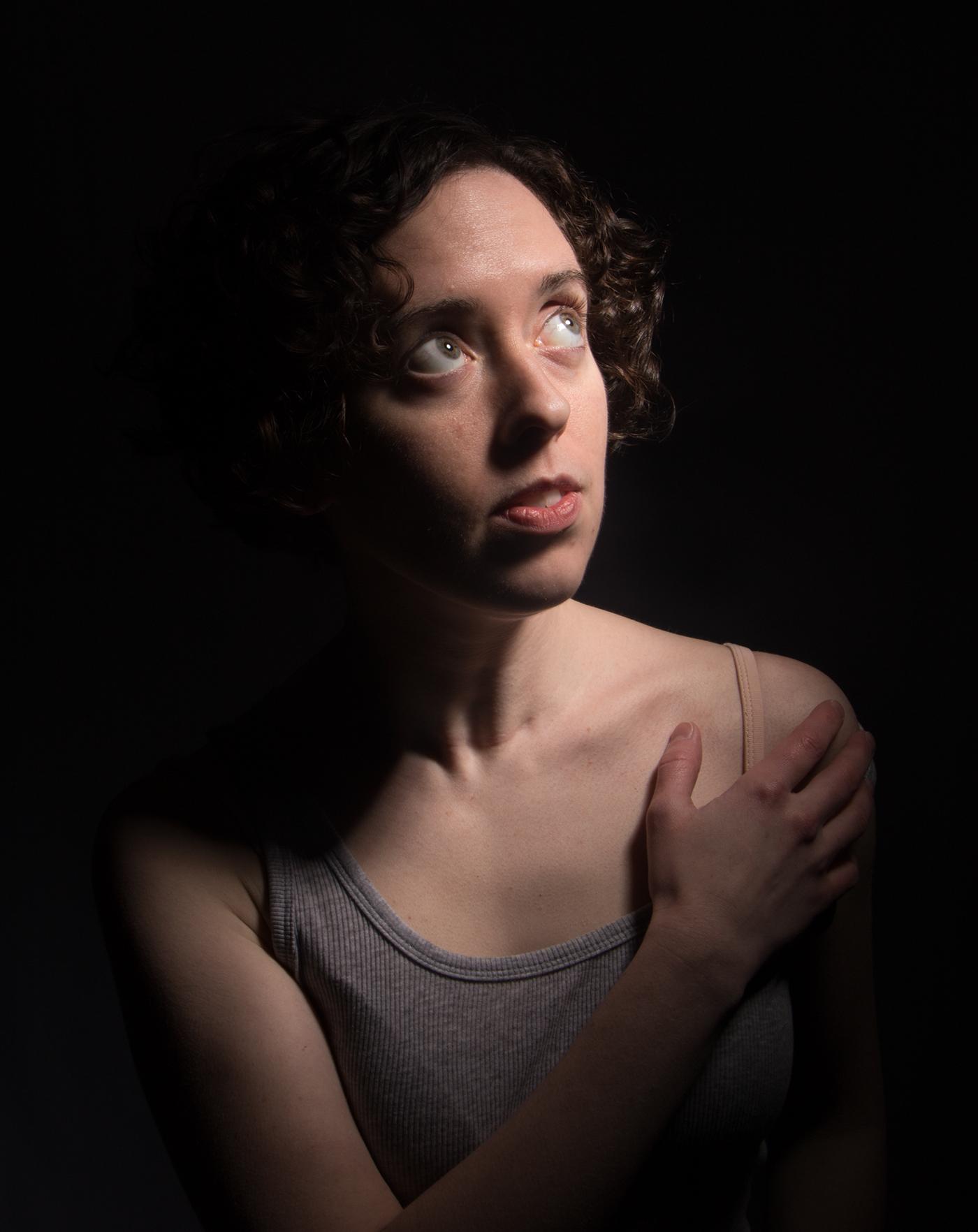 portraits lighting Photography  dramatic
