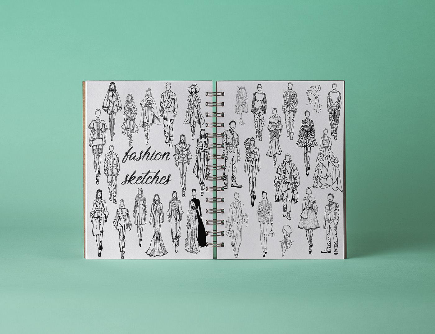 有創意感的35套衣服設計圖欣賞