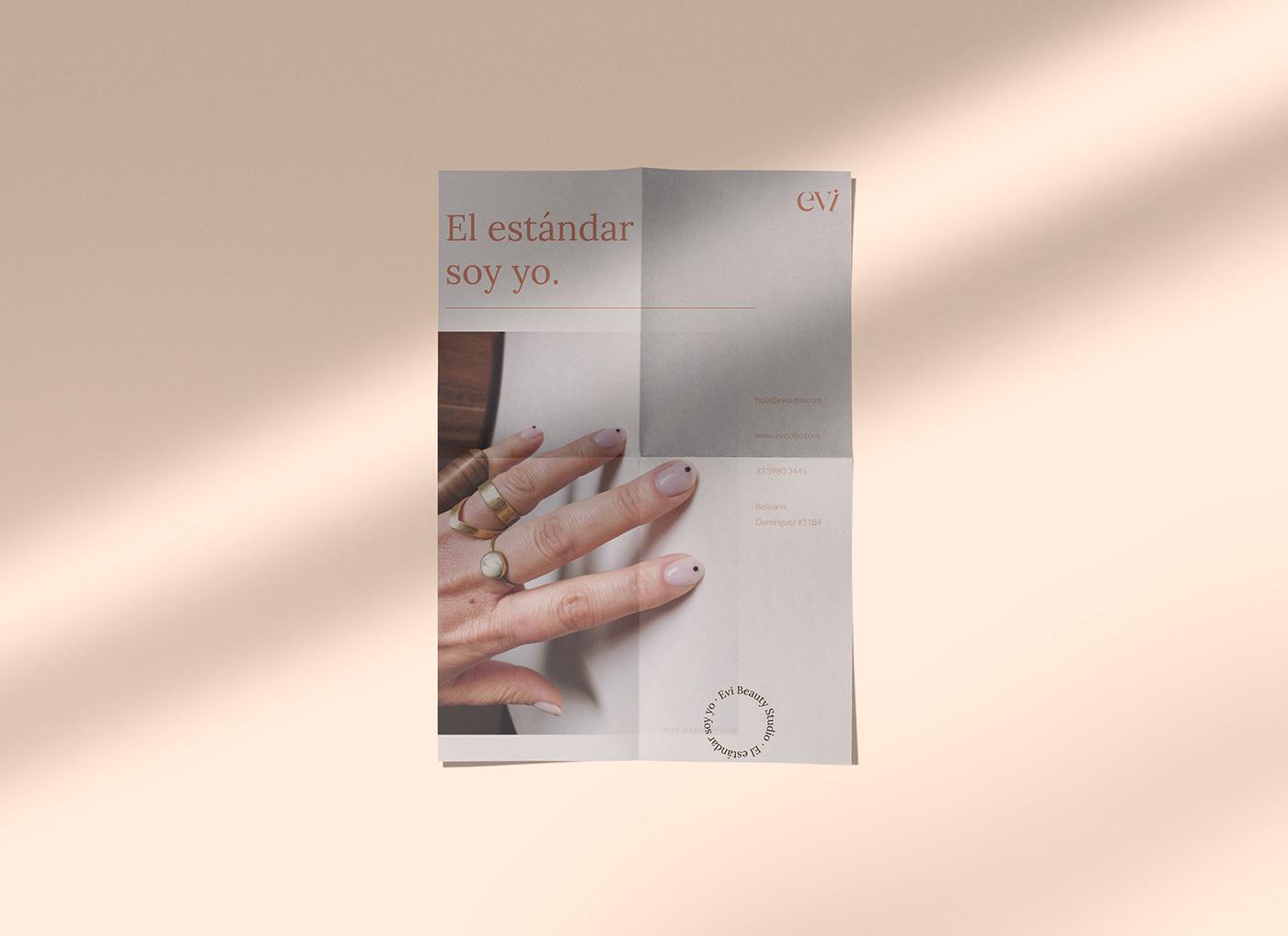 beauty brand branding  graphic ILLUSTRATION  nails studio women