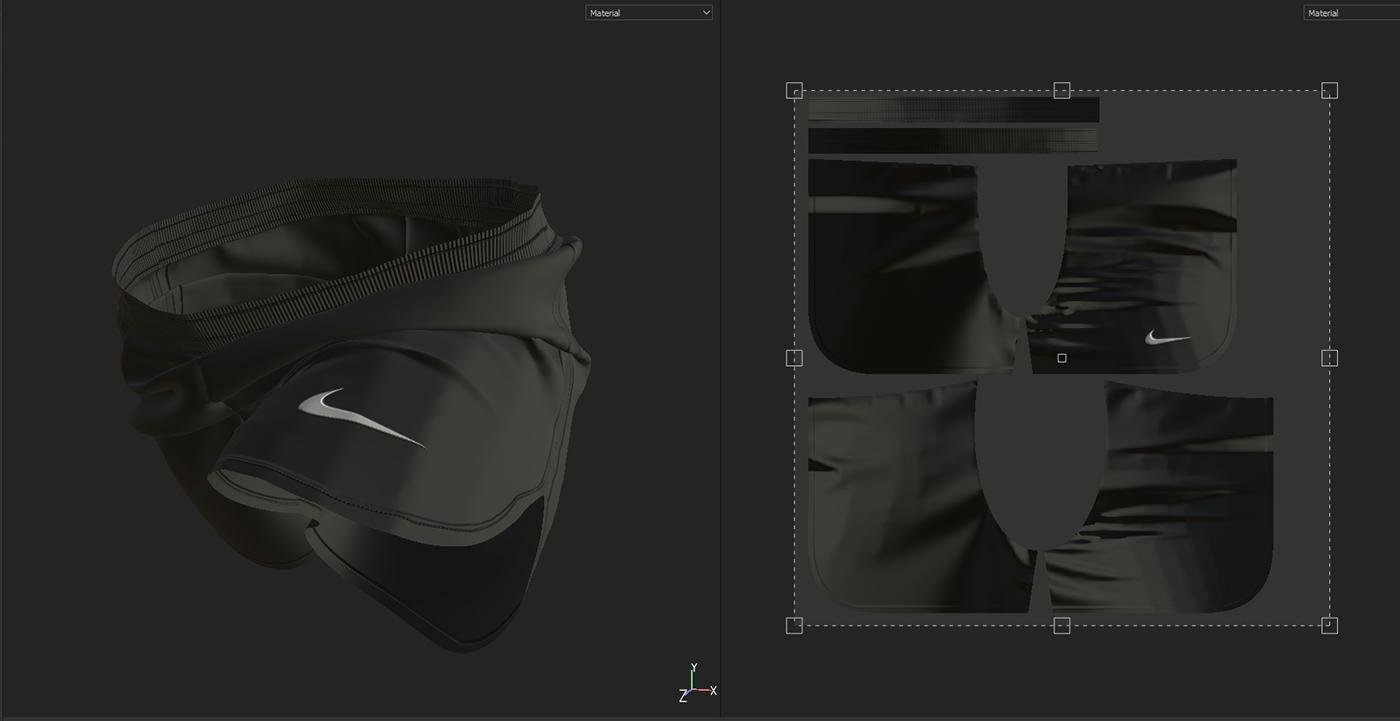 cloth damn5 design motiondesign Nike nikefilm nikereact nikerunning nikezoomfly simulation