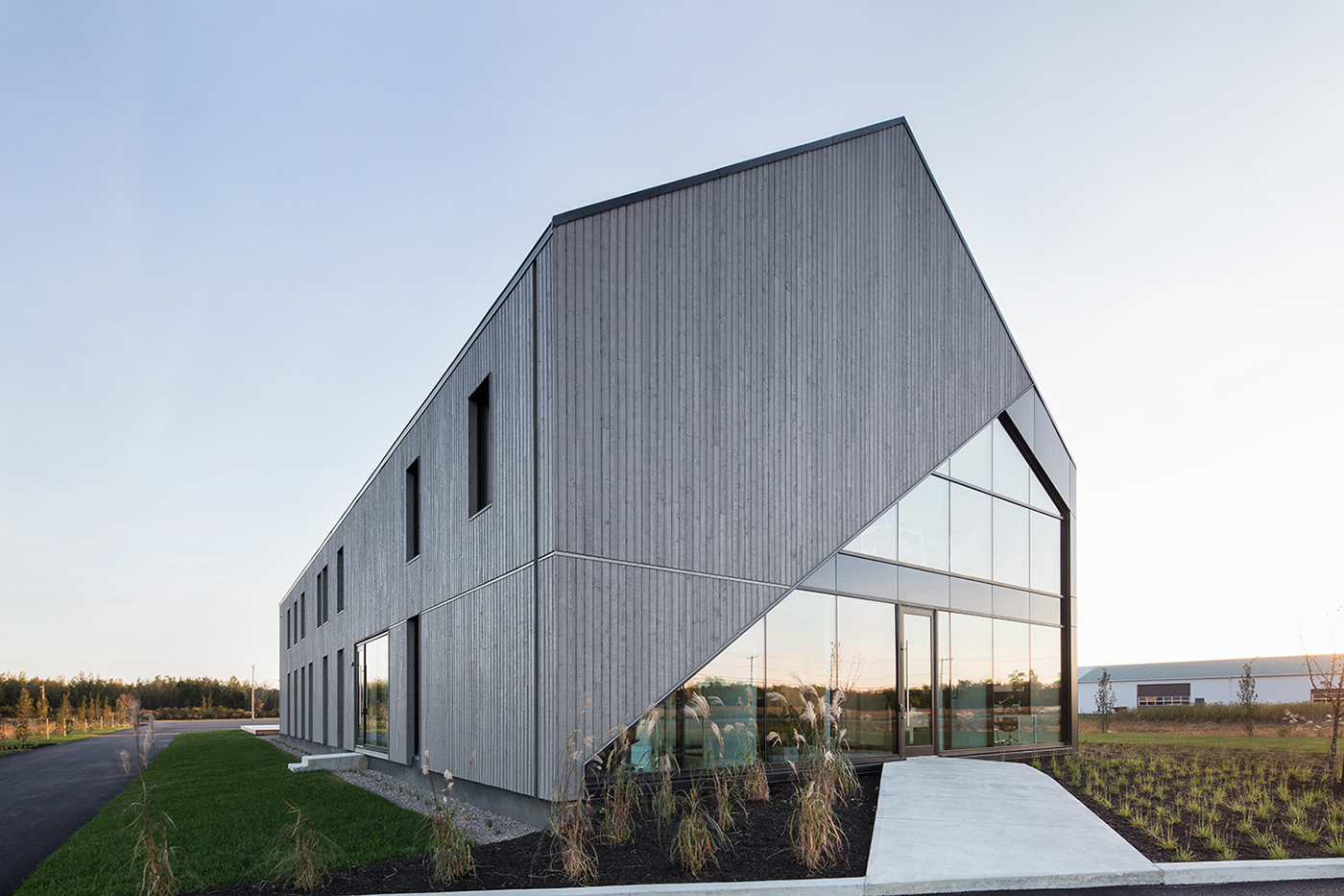 identity black foilstamping architect architecte symbol abstract grids branding  mark