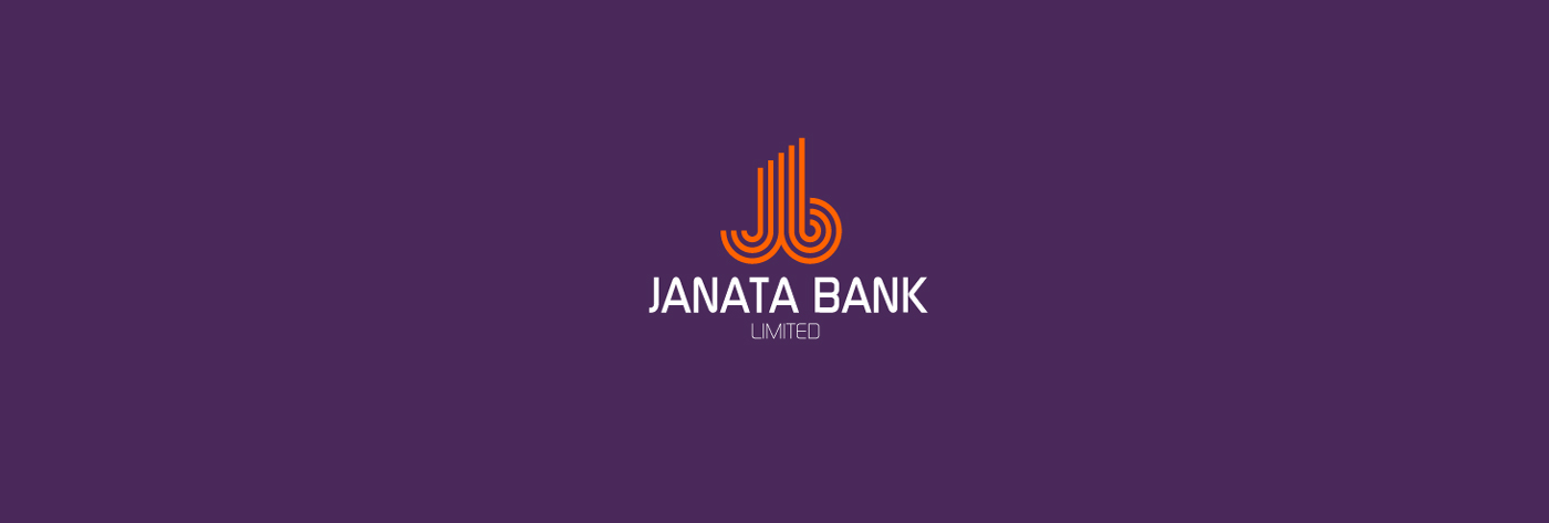 logo Logo Design design Bank Bangladesh corporate identity brand concept janata nerd rabbit
