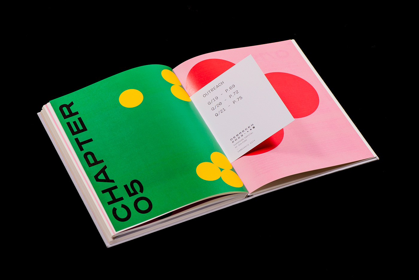 Layout magazine book embossing experimental typography   dank contemporary editorial festival