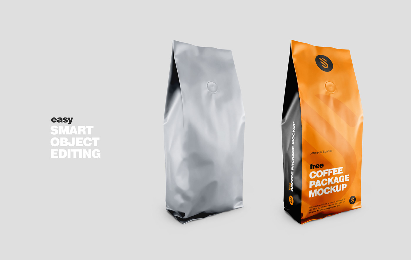 Free Coffee Package Mockup On Behance