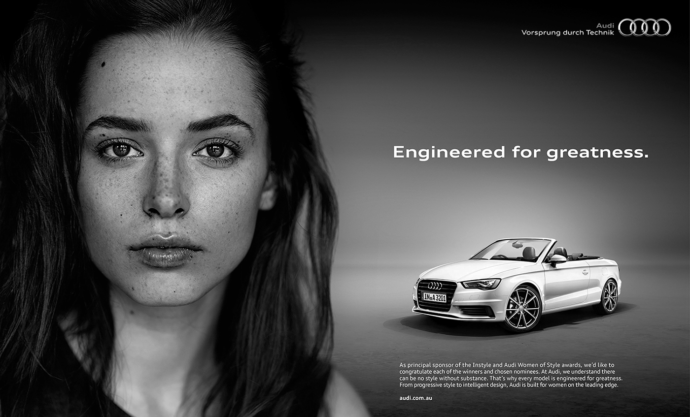 Weronika For Audi On Behance - Audi commercial