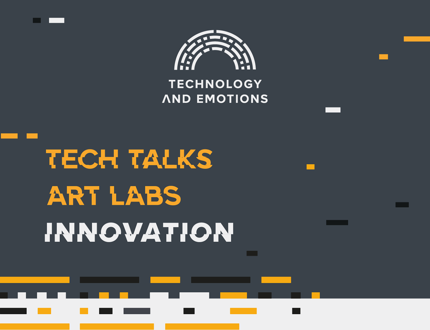 Technology & Emotions – Conference Branding on Behance