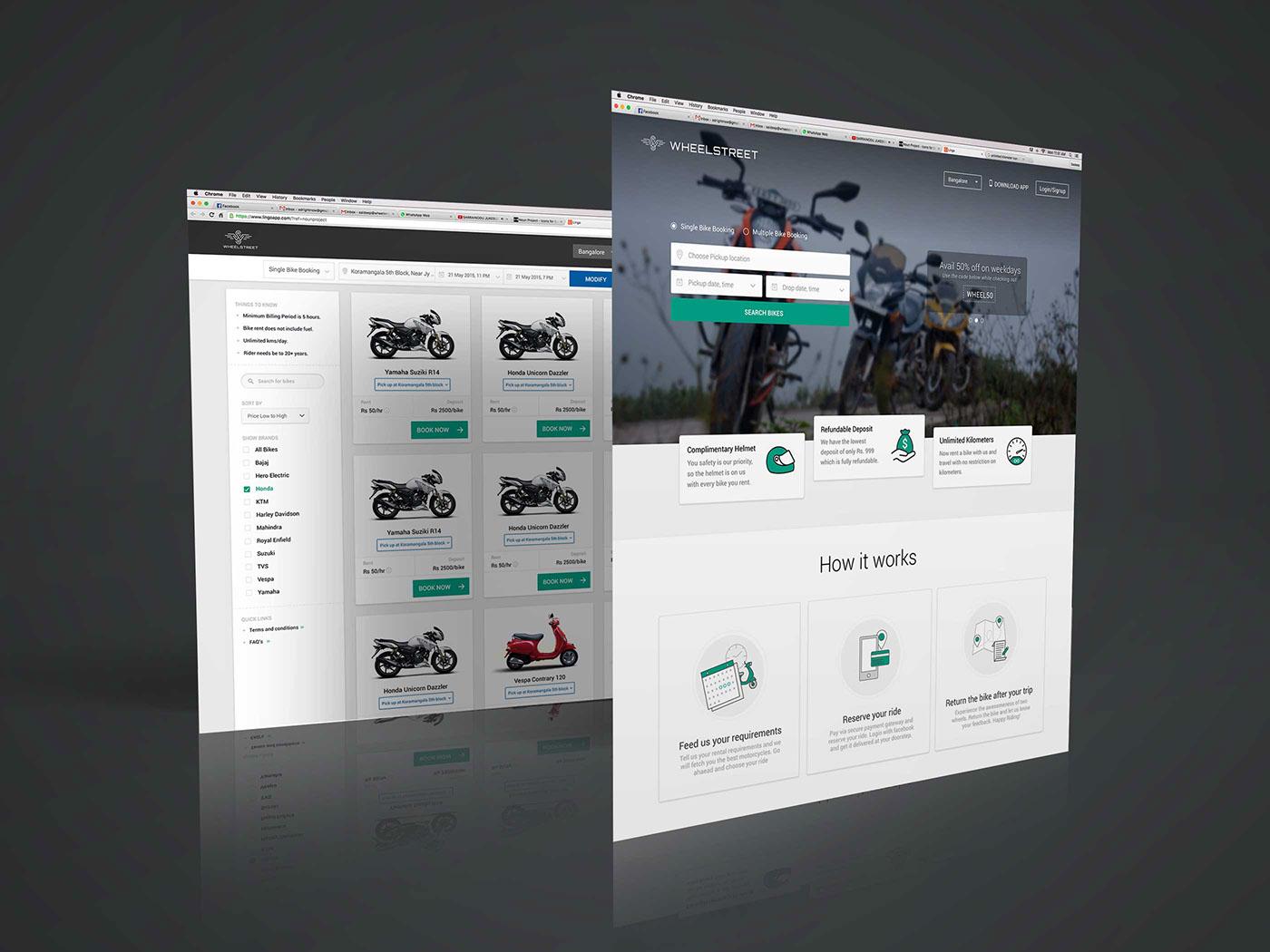 Bike Rent rental motorbike motorbike rental Booking Startup furniture furniture rental