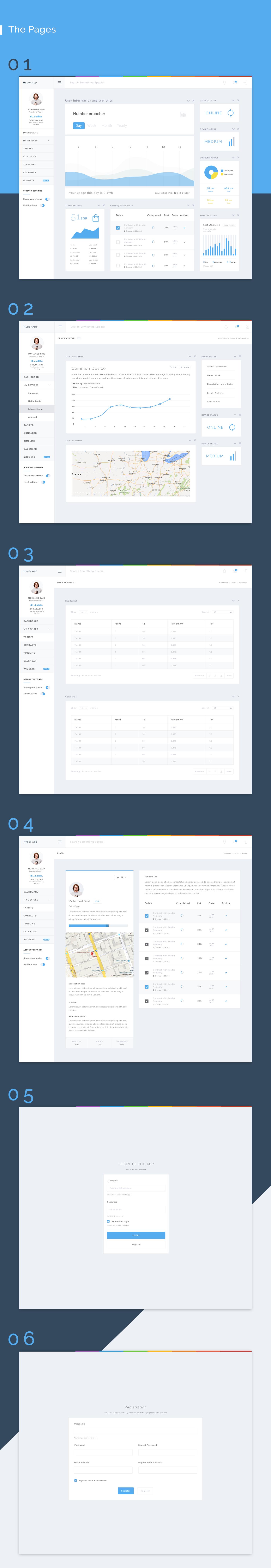 Hyper App - Dashboard - Web App Admin Template