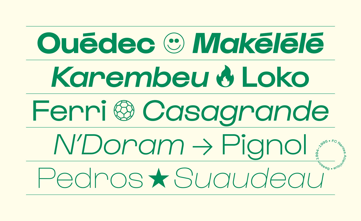 branding  font graphic design  graphisme logo modern type design Typeface Typographie typography
