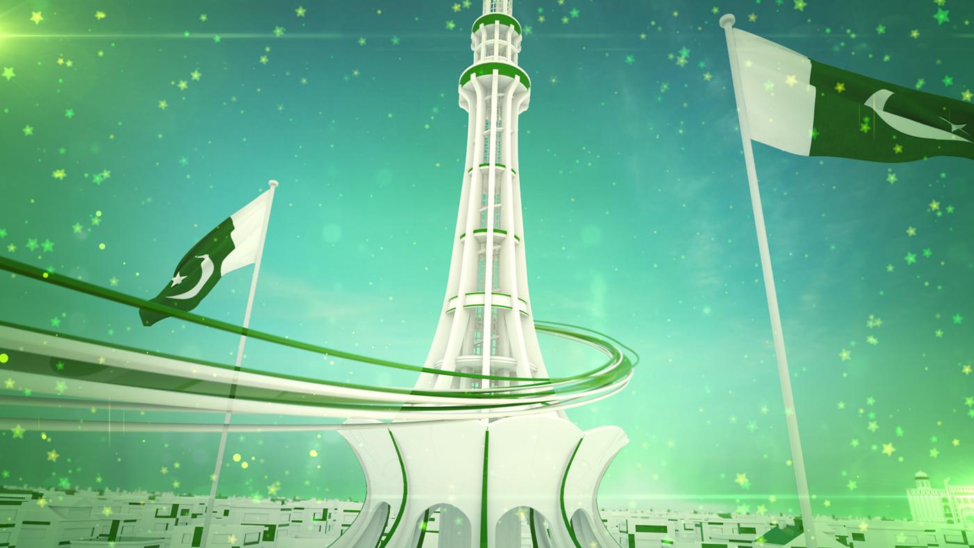 14 August (Pakistan Day) on Behance