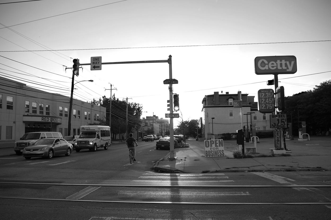 Photography  black and white street photography philadelphia