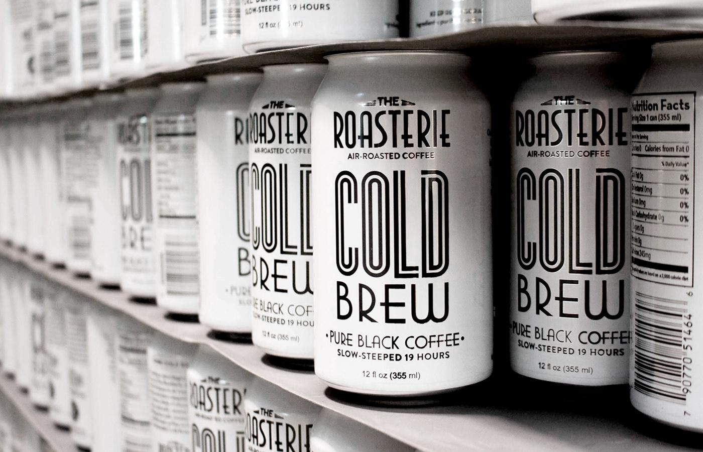 Coffee coffee packaging coffee branding coffee company packaging design branding  Cold Brew Cold Brew Coffee The Roasterie Coffee Design