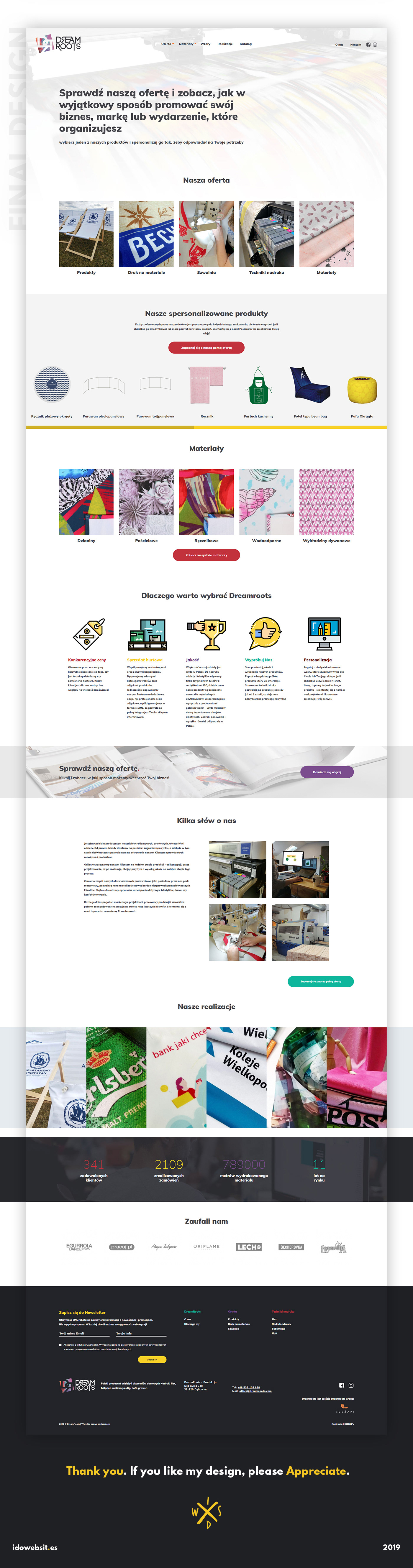 bright web site colorful Layout Design light layout ui design Web Design  webdesign clothing Website Design