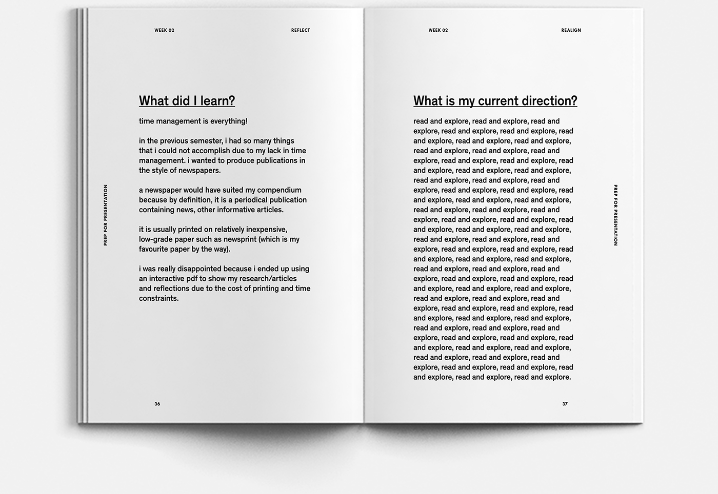 Creative Process Journal I On Behance