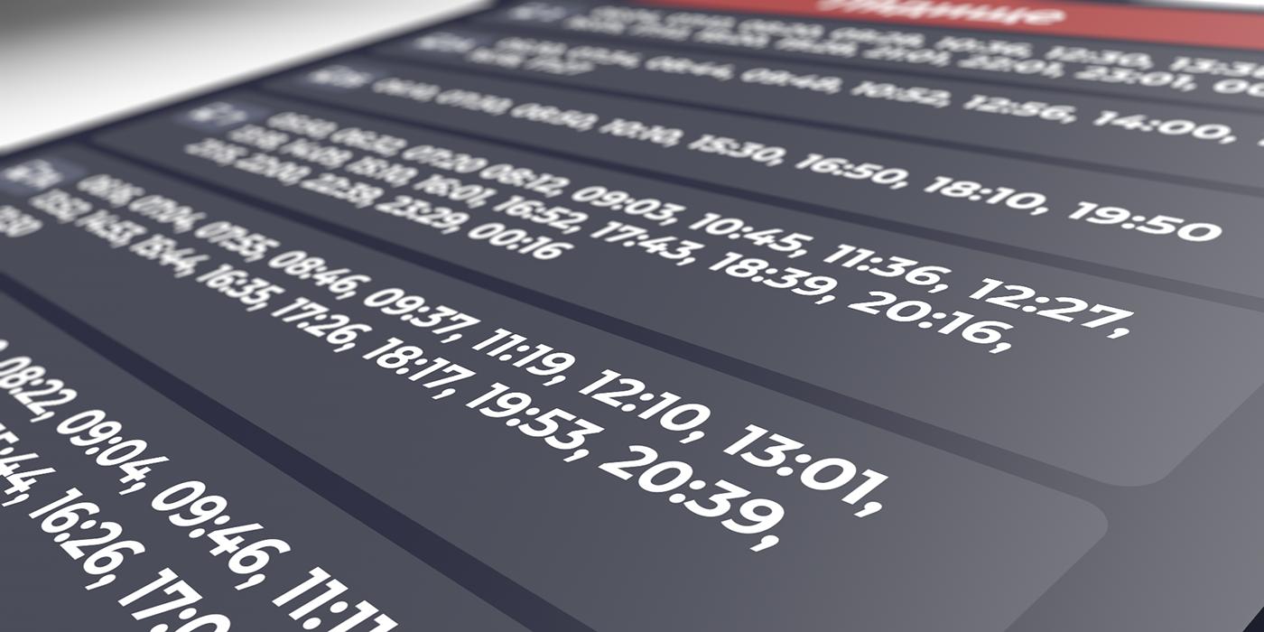 Дизайнер разработал проект табличек с расписанием для борисовских остановок. Здорово смотрится! 2