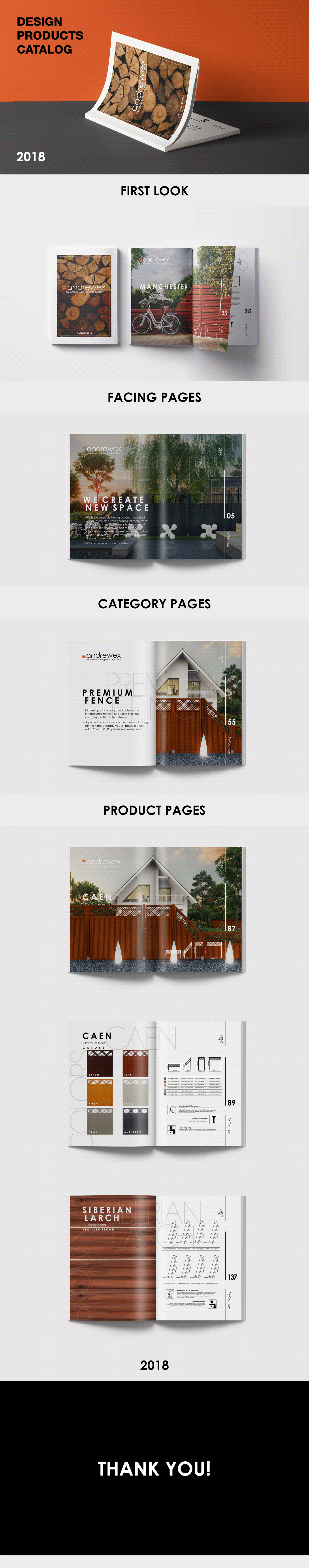catalog design Project Catalogue
