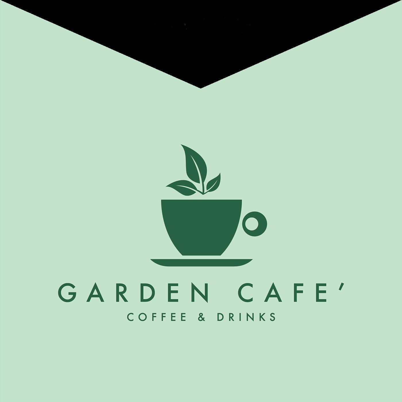 Garden Cafe Logo Design 2017 On Behance