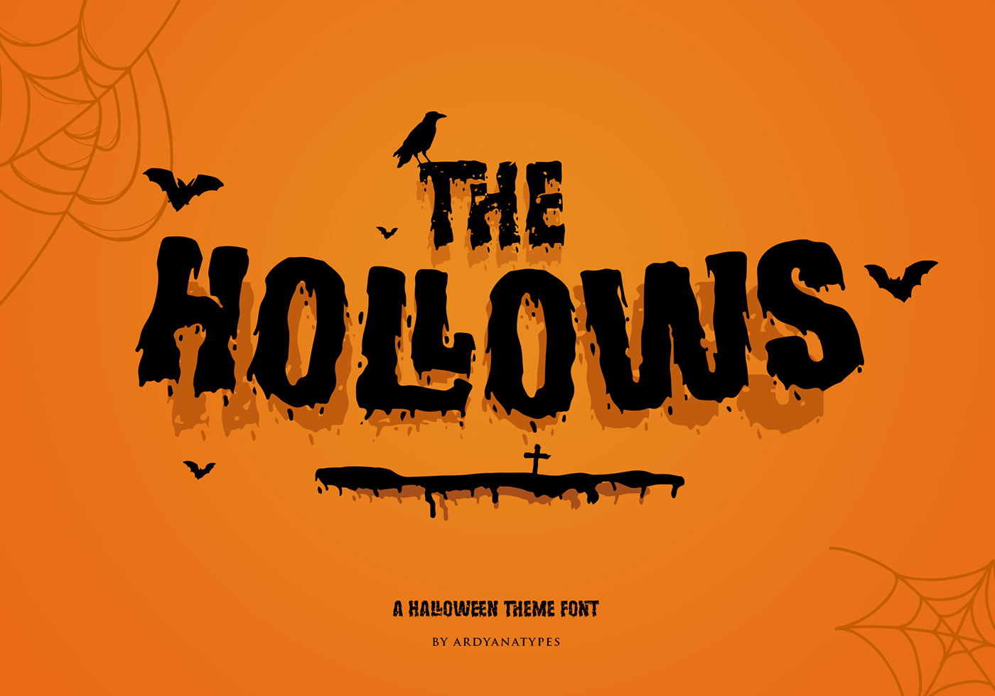 Шрифт – The Hollows