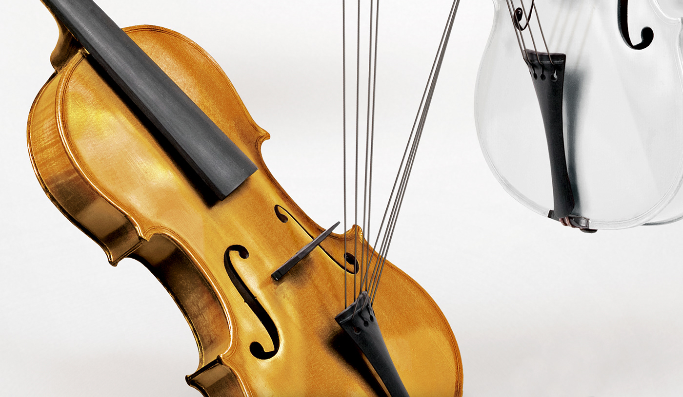brown colors diverse race strings Violin White yellow