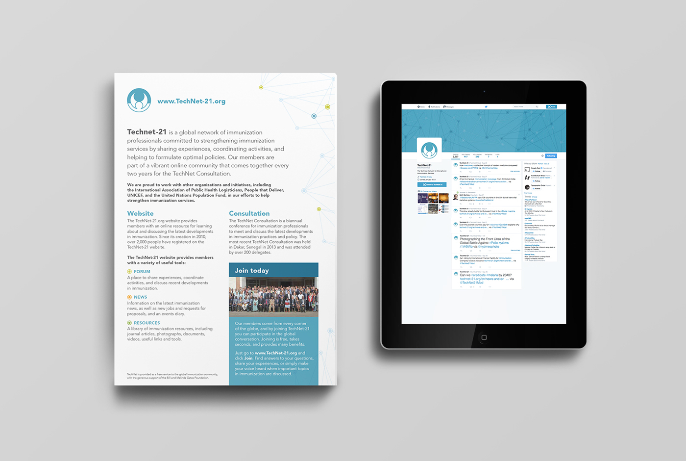TechNet Brand Refresh & Conference Materials on Behance