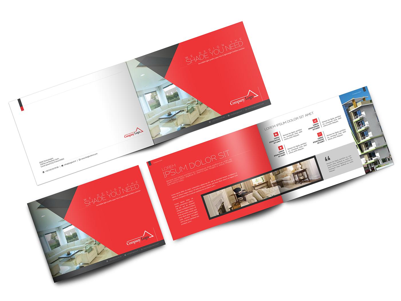 brochure landscape brochure Corporate Brochure Company Profil annual report real estate brochure real estate