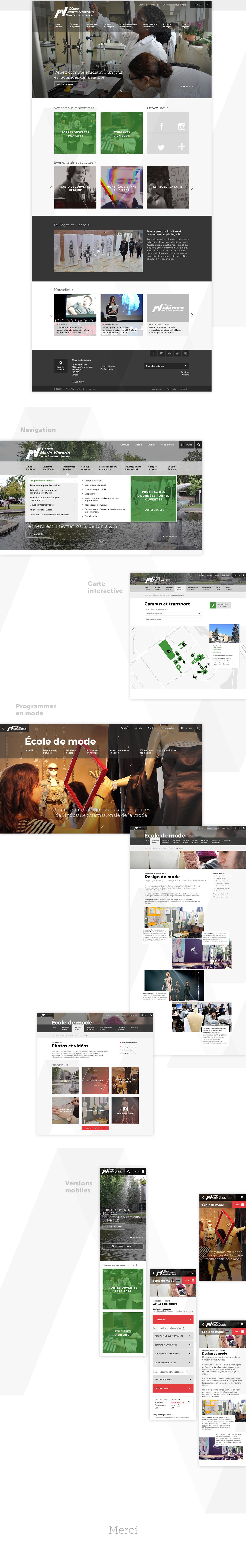 cégep school enseignement Etude formation programme Quebec Montreal