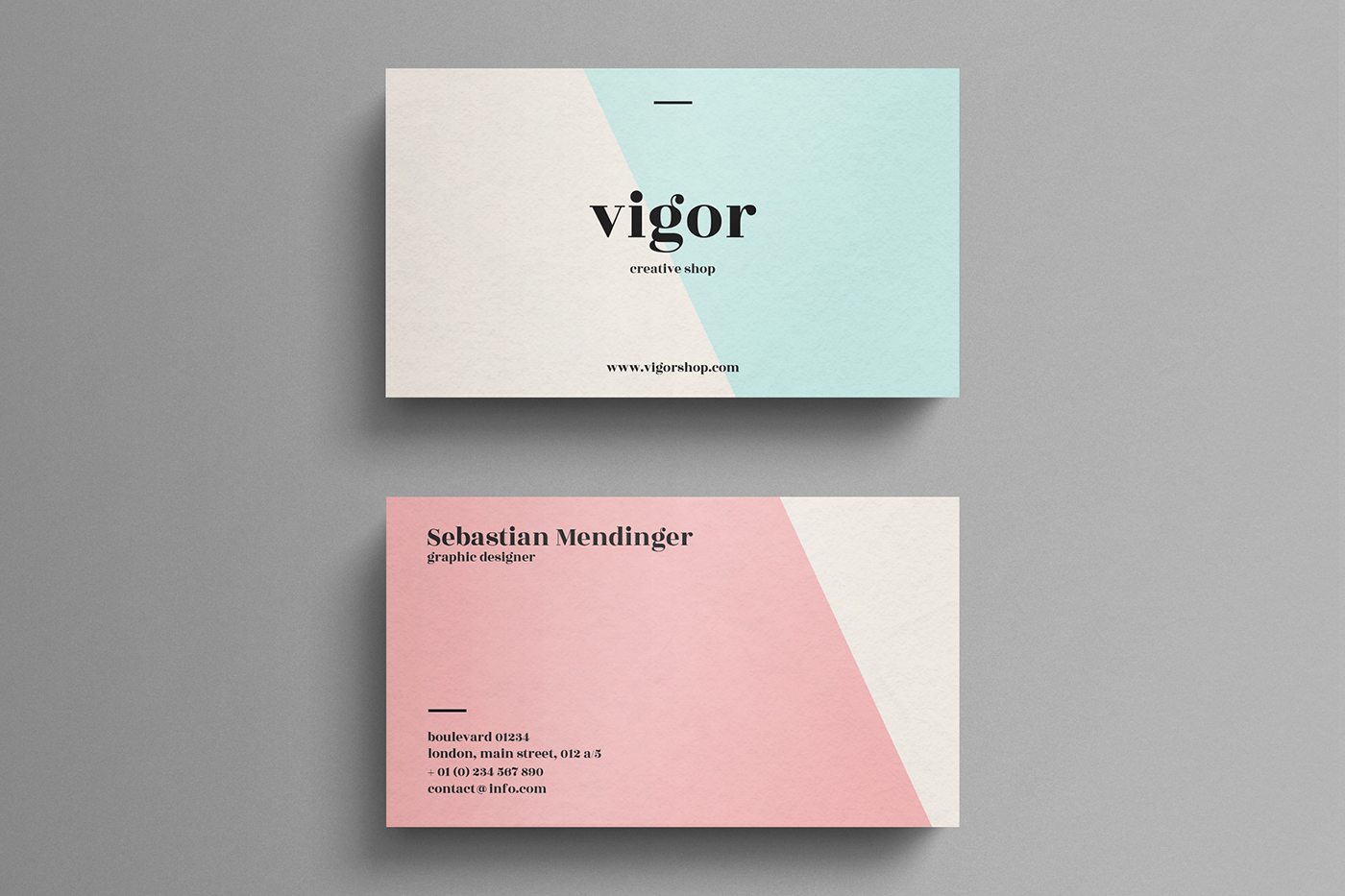 Business Cards / 2017 on Behance