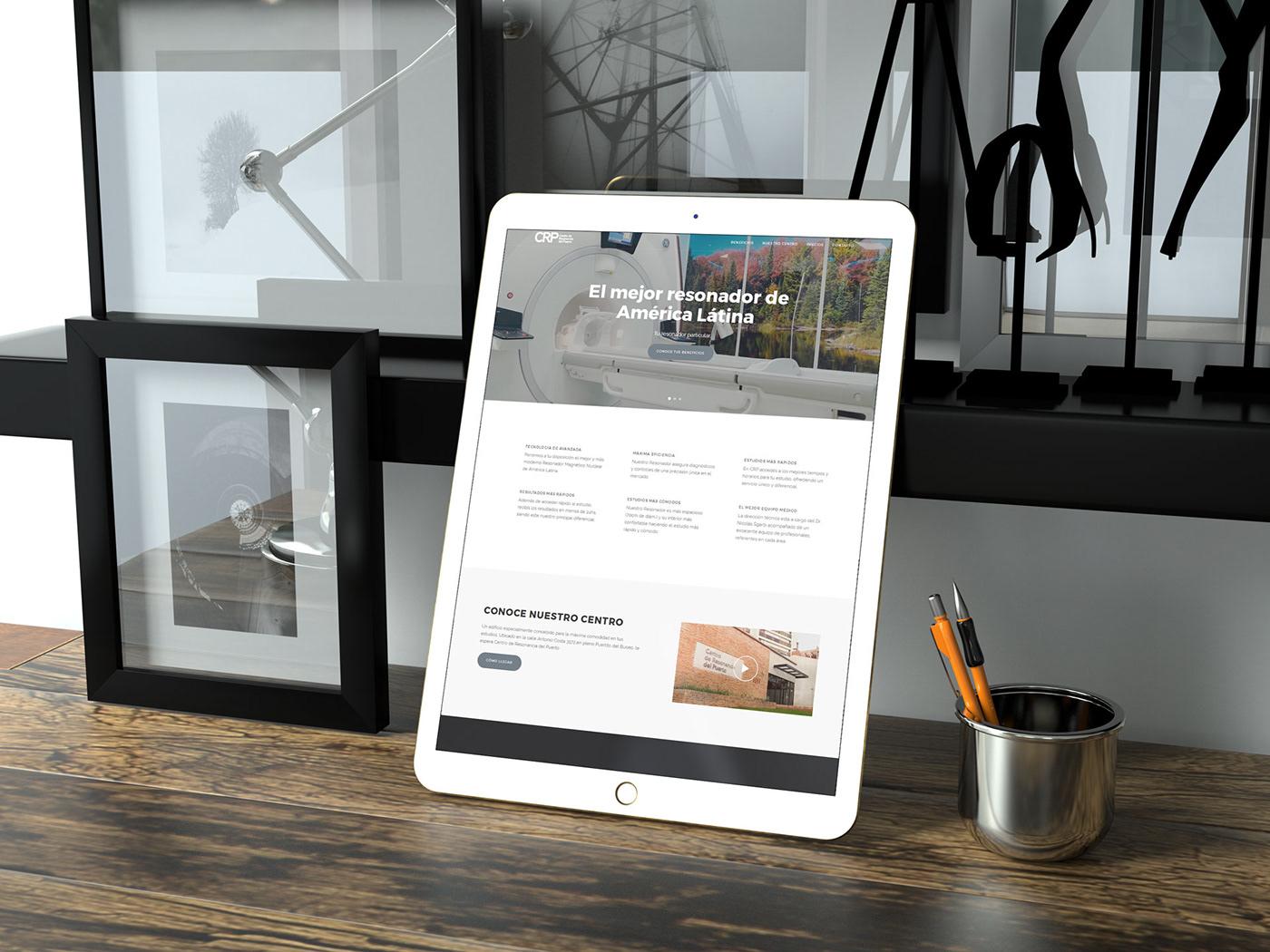 back end Clinical front end medicine uruguay Web Design  web development