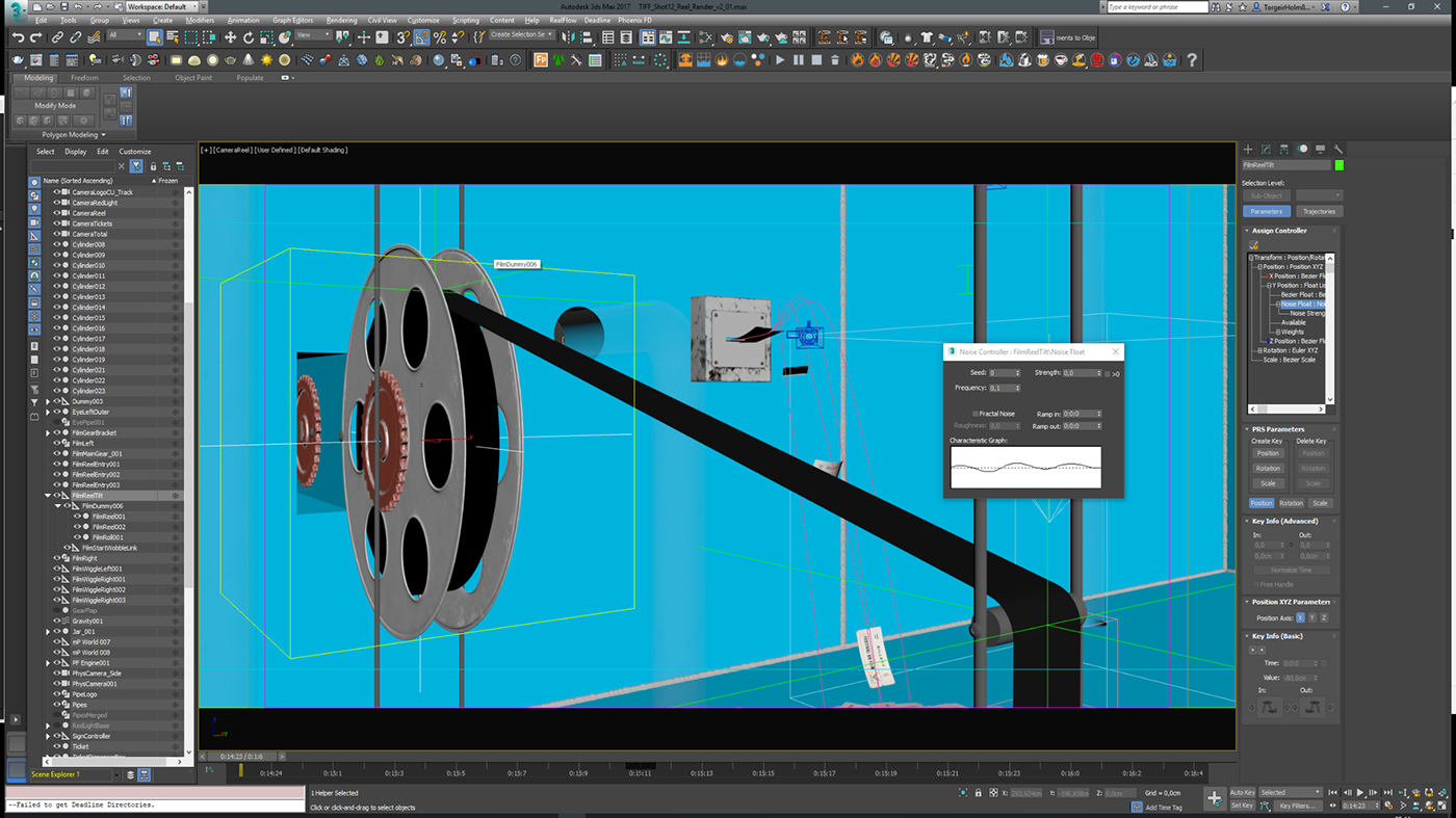 netronnorway 3D 3ds max V-ray animation  CGI