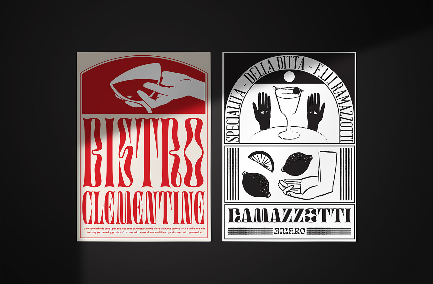 design graphic design  ILLUSTRATION  posters typography