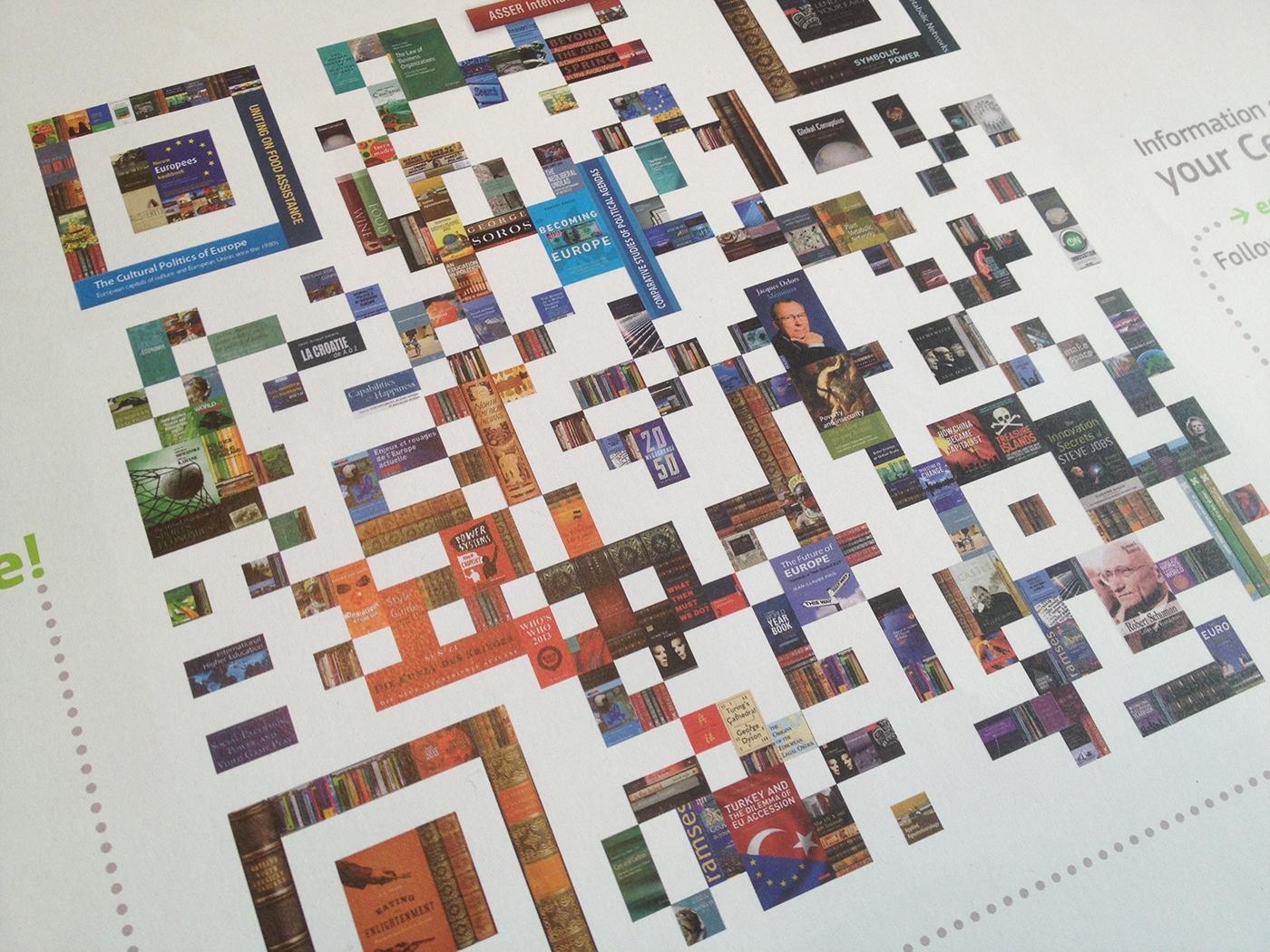 有創意感的25張QRcode設計欣賞
