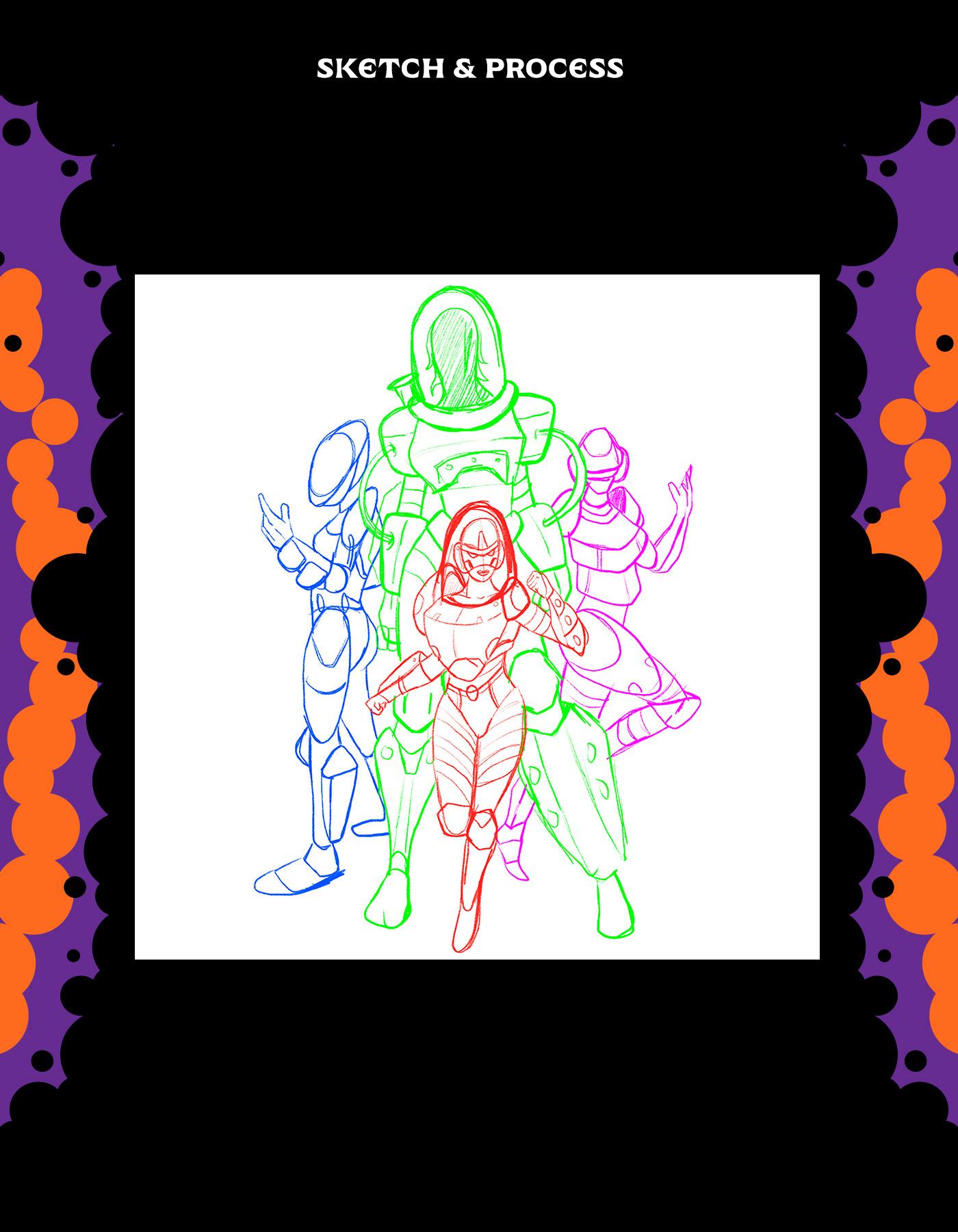 Image may contain: cartoon and drawing