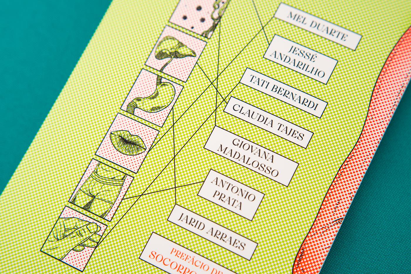 book book cover capa de livro editorial she designs books covers halftone Livro pantone