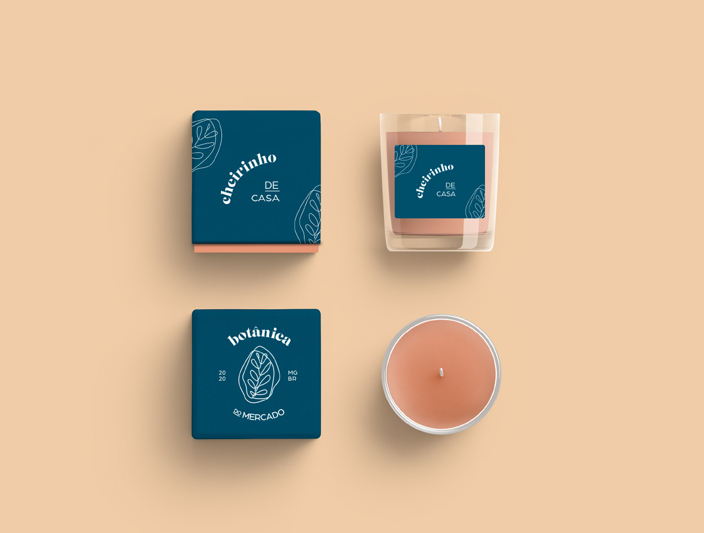 botanic branding  identidade visual illustrations rebranding