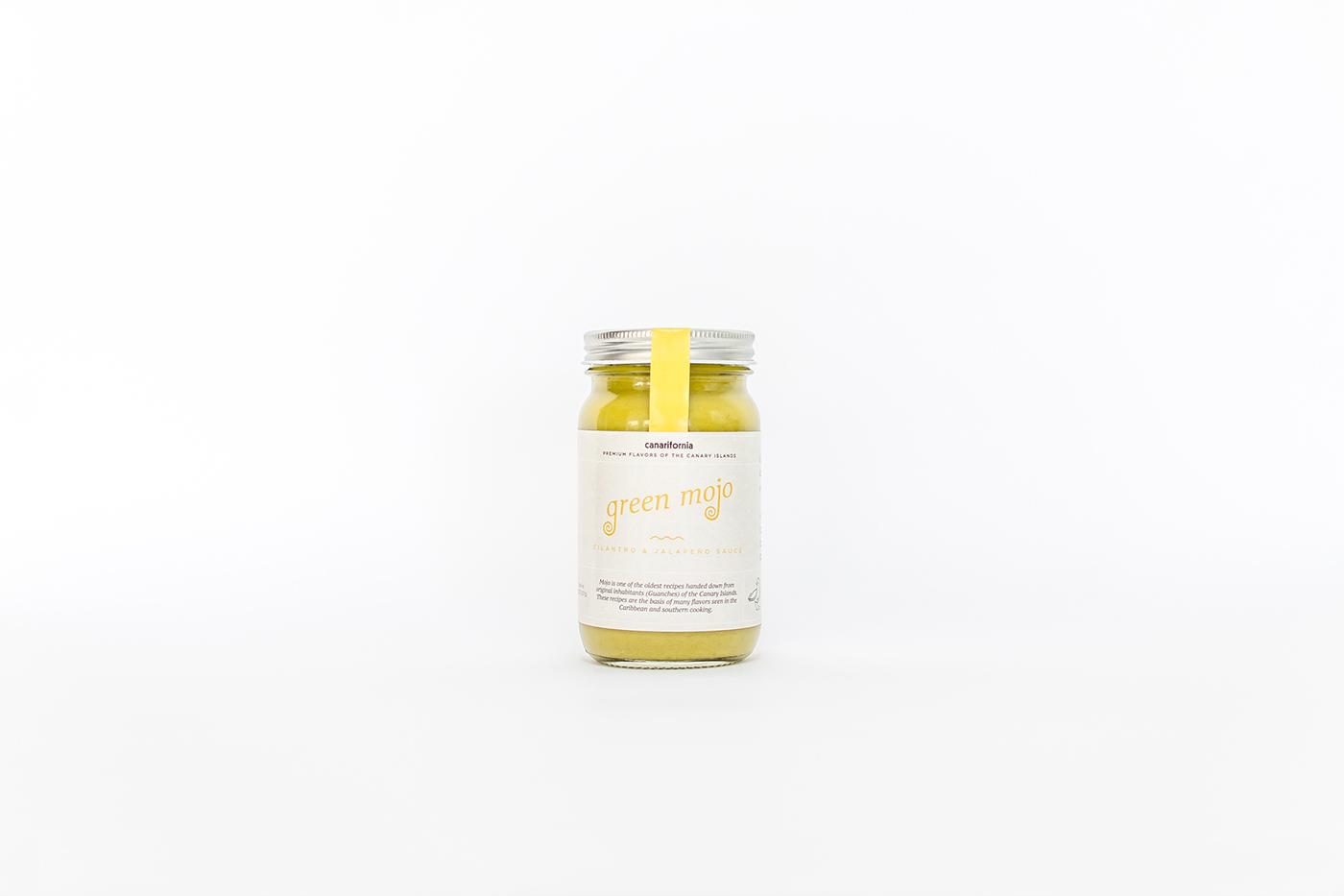 California Mojo sauce canary islands gourmet minimal brand colorful salsa inspiration