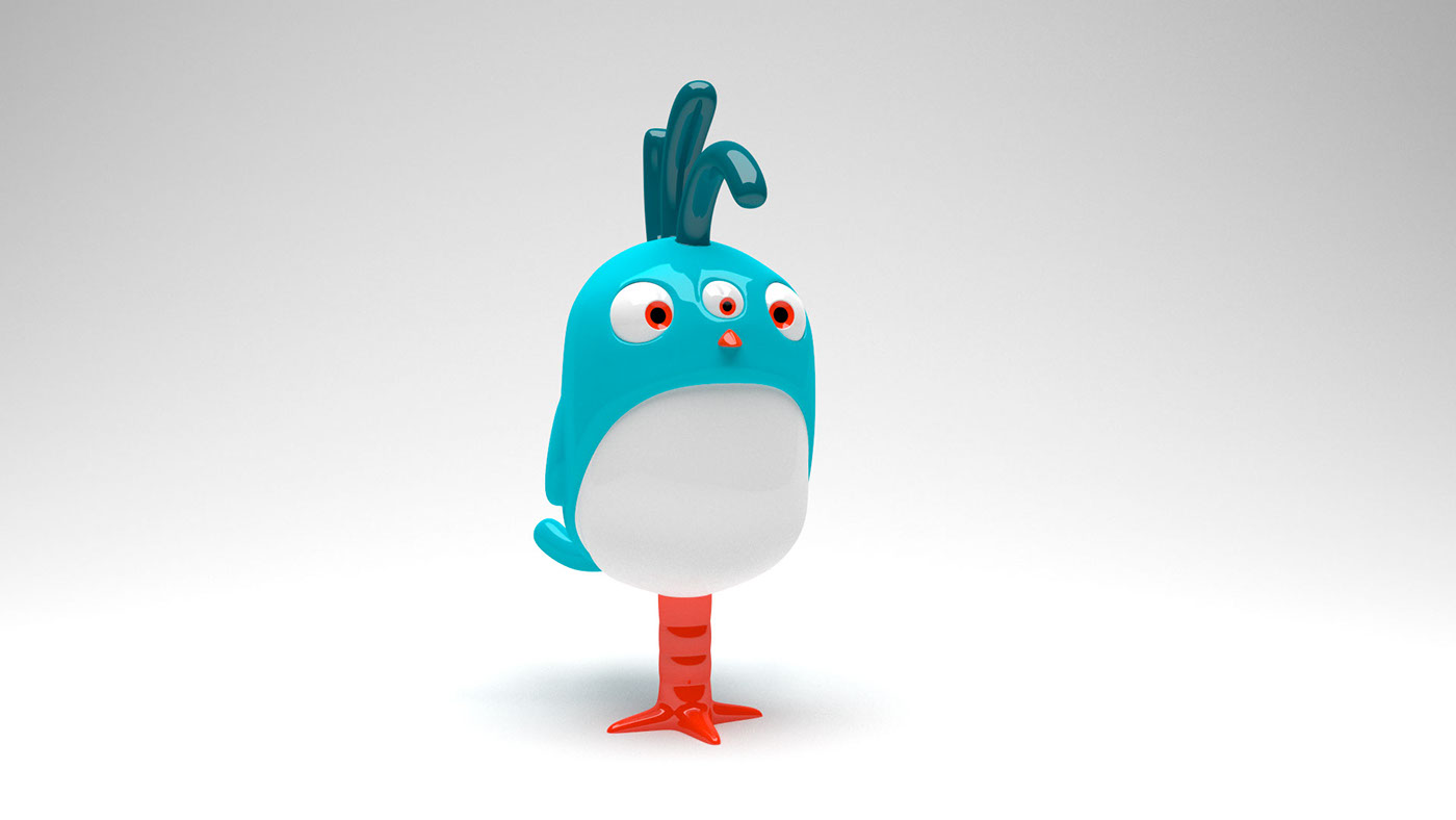 3d Character Design Behance : Character design for roooster on behance