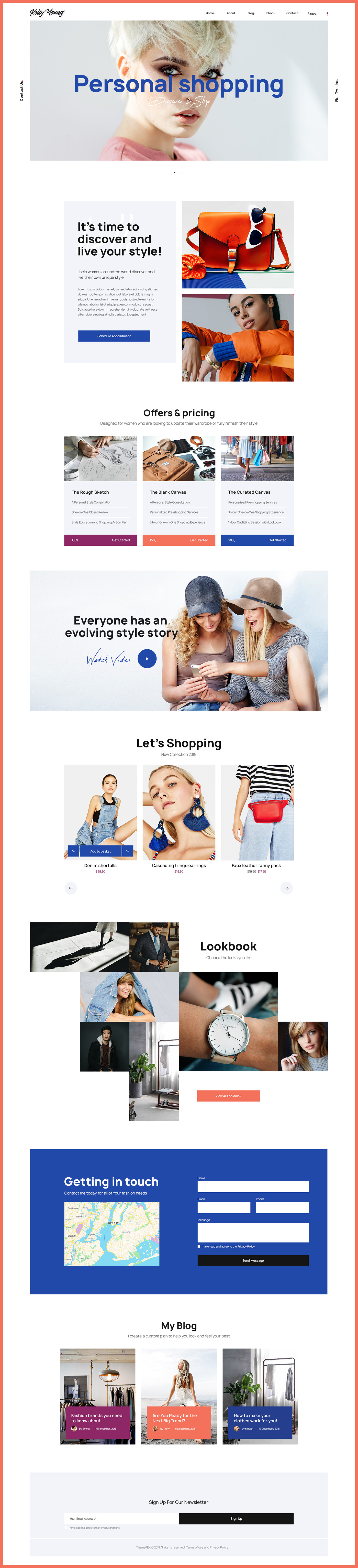 appointments Blog blogger Booking designer Ecommerce Events Fashion  Fashion Retailer lifestyle