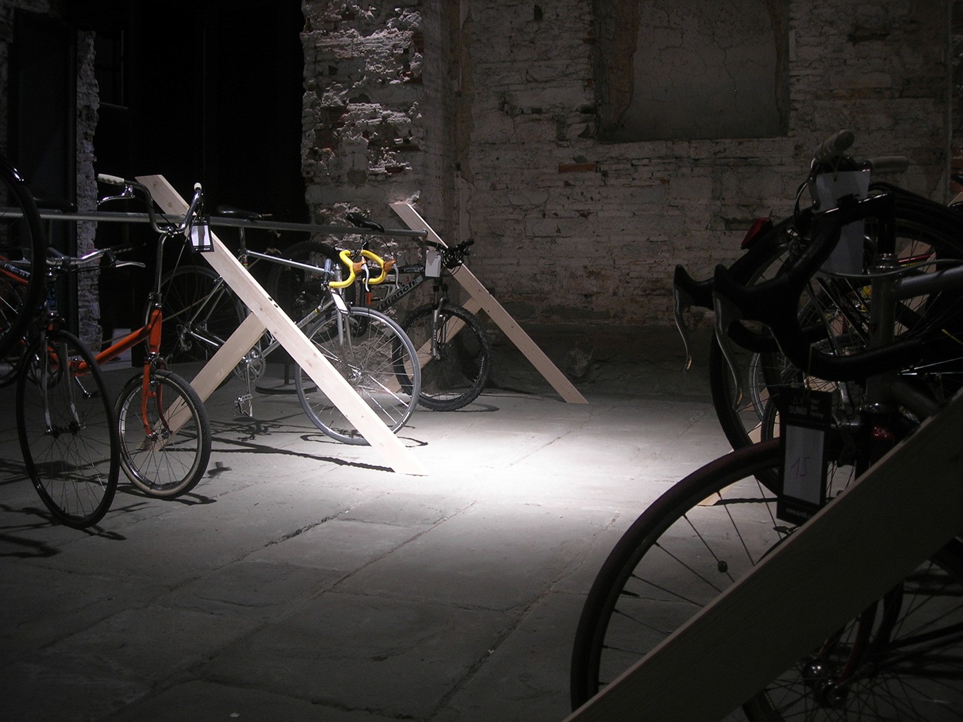 bycicle film festival design EXHIBIT DESIGN Florence milan SUN68 The Studio