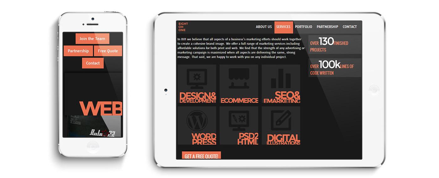 wordpress html5 css3 php Responsive Blog portfolio